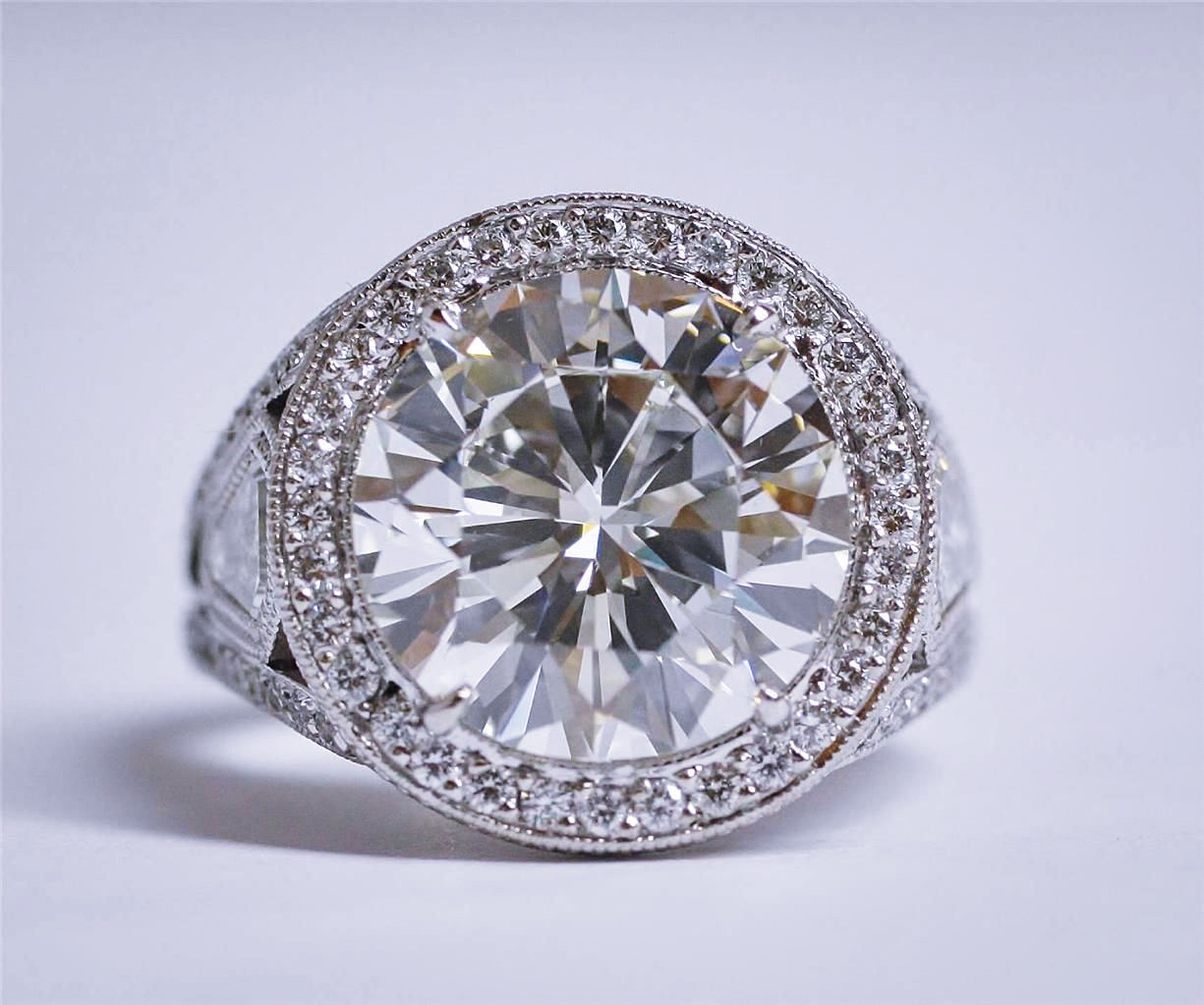 Large Diamond Ring (5 Cts.)