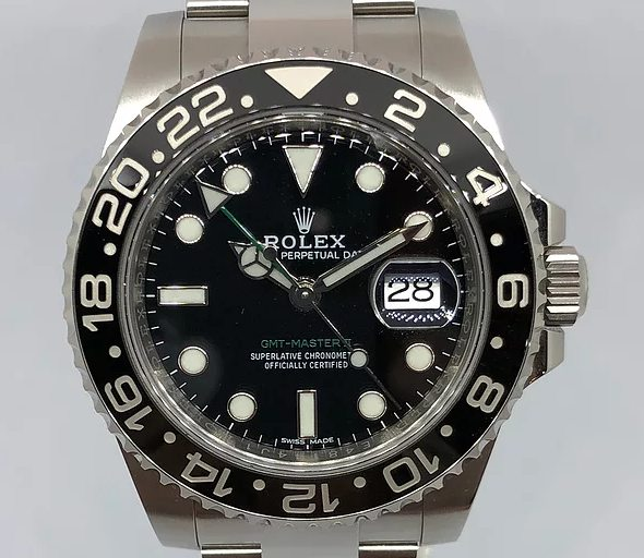 The Rolex-GMT-Master-II-M116710LN