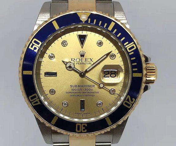 A Rolex-Submariner-Ref-16613