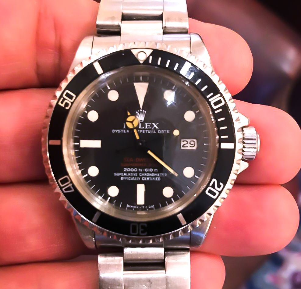 Sell-Vintage-Rolex-Sea-Dweller