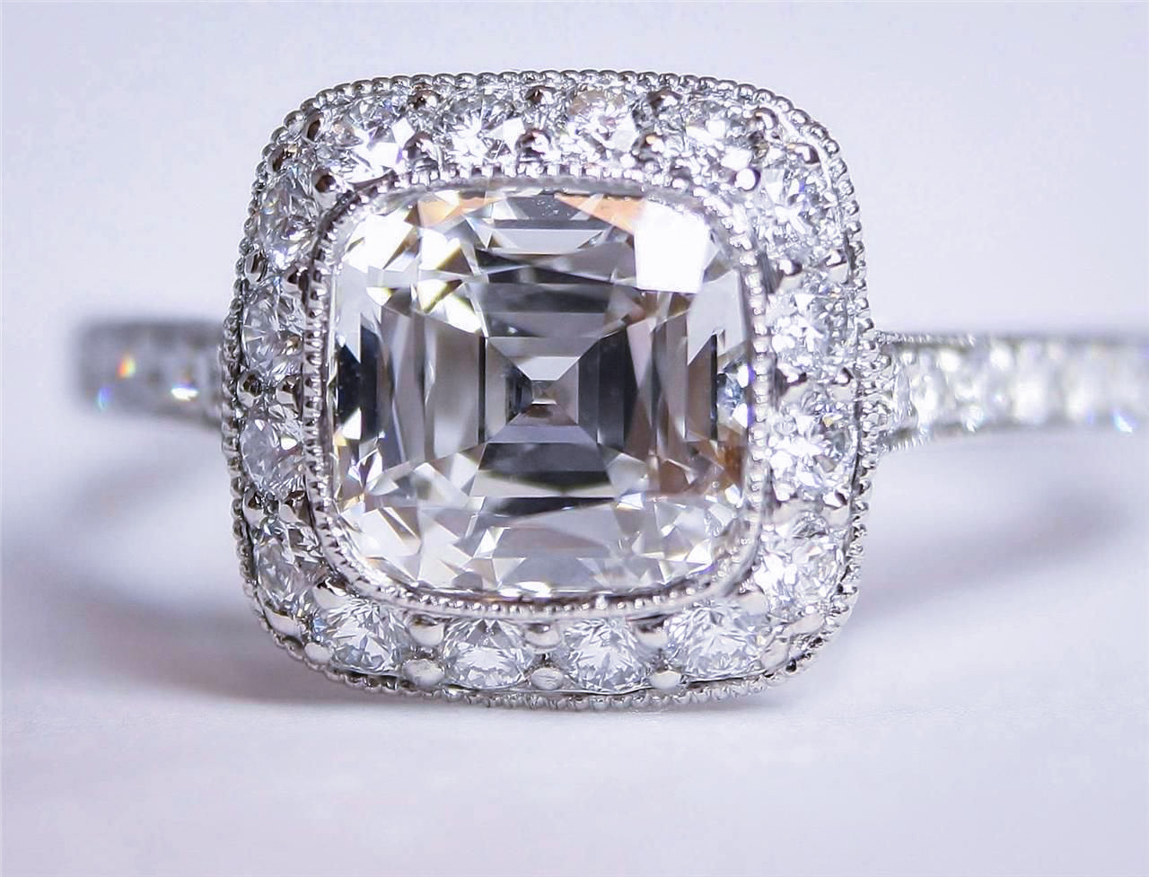 5 Carat Tiffany Diamond Ring