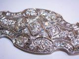 Art Deco Diamond Estate Brooch