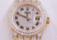 Rolex Ladies Diamond Datejust