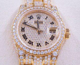 The Rolex Ladies Diamond Datejust