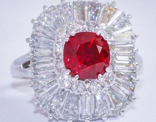 7 Burma Ruby Ring