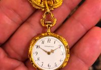 9 Antique Tiffany Lapel Watch