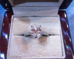 2.5 Carat Mine Cut Diamond Ring