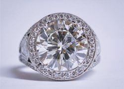 Large Diamond Ring (5 Cts.)