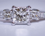 Tacori Princess Diamond Ring