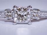 Tacori Princess Diamond Ring
