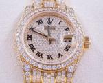 Rolex Ladies Diamond Datejust