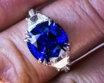 7 Carat Sapphire Ring