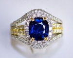 Sell Non Heated Sapphire Ring