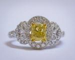 We Buy Fancy Yellow Diamond Rings