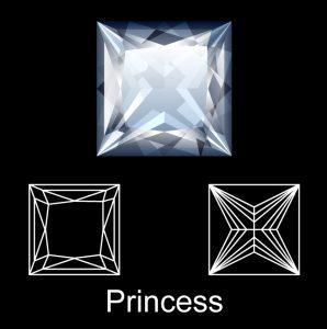 See a Princess Cut Diamond Ring
