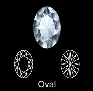 Sell Oval Diamond Ring