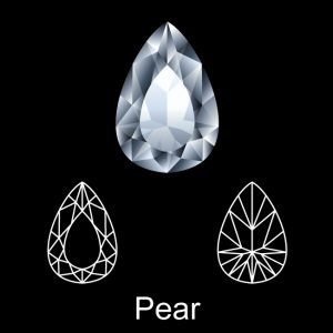 Sell a Pear Diamond Ring
